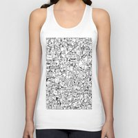 it crowd Tank Tops featuring Crowd 1 by PAIartist