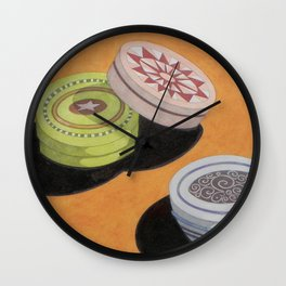Small bowls n. 3 Wall Clock