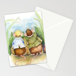 Friendly Vacation Stationery Cards