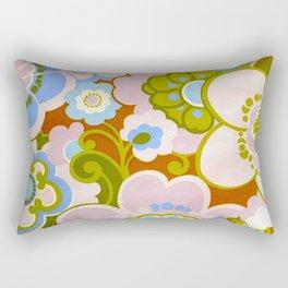 SEVENTIES FLOWERS Rectangular Pillow