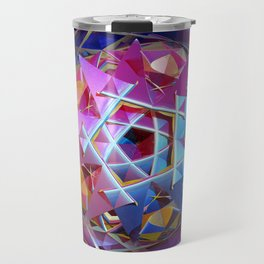 Colorful metallic orb Travel Mug