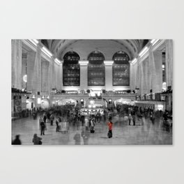 Grand Central Station - New York Photography Canvas Print