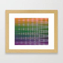 Blended Ways Framed Art Print