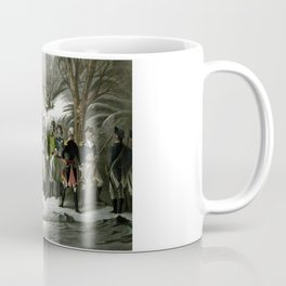Washington and His Generals Coffee Mug