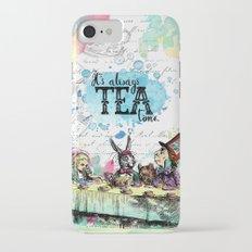Alice in Wonderland - Tea Time Slim Case iPhone 7