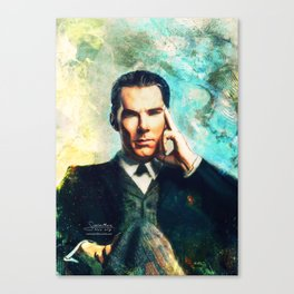 Man Out Of His Time Canvas Print