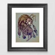 Bunny Creep Framed Art Print