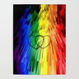 Pride Colors by Nico Bielow Poster
