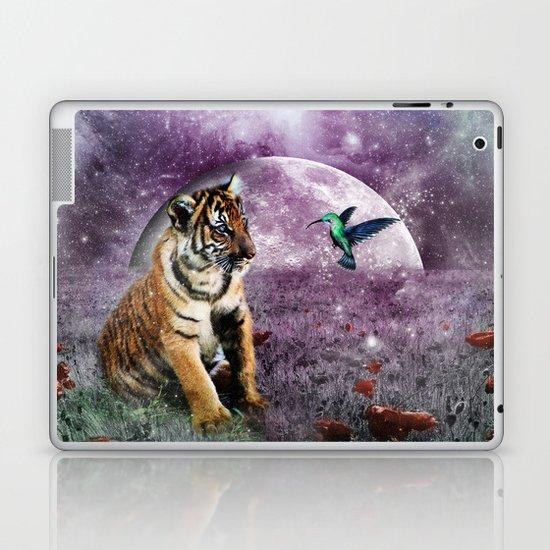 Tiger and Hummingbird Laptop & iPad Skin
