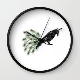 Funny Crow Wall Clock