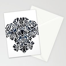 Folk pattern Stationery Cards