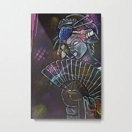 Geishaz Metal Print