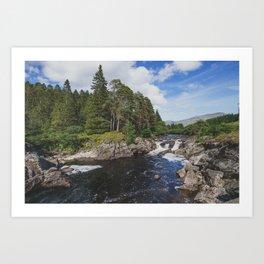 River Orchy - Argyll & Bute, Scotland Art Print