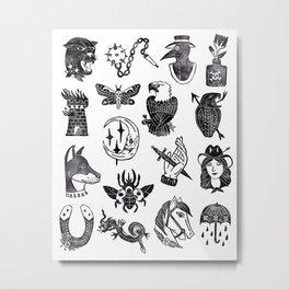 Flash Sheet II Metal Print
