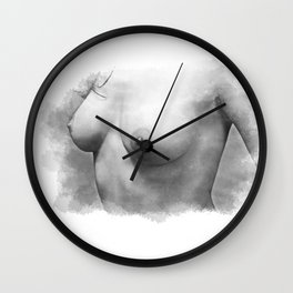 Sexy nude woman Wall Clock