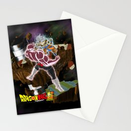 Goku vs Jiren Stationery Cards