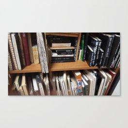 Book Case Rug Canvas Print
