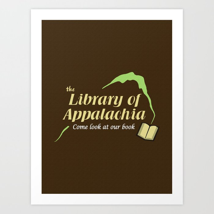 Come Look at Our Book Art Print
