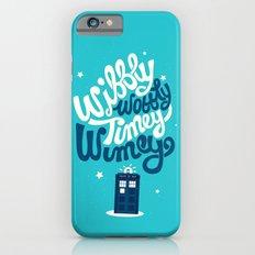 Wibbly Wobbly Timey Wimey Slim Case iPhone 6s