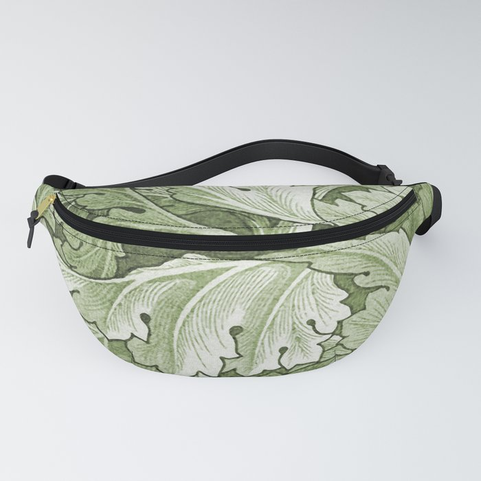 Celery Green Acanthus Plant Fanny Pack