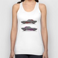 muscle Tank Tops featuring muscle by ErsanYagiz