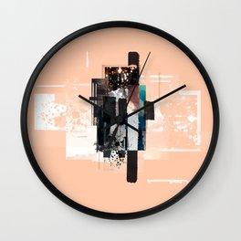 """Pack Mule Four"" Graphic Art Print Wall Clock"