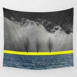 Between Mountain and Sea Wall Tapestry