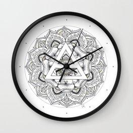 Precious Triad Wall Clock