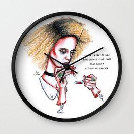 Hypodermic Sally #2 Wall Clock