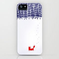 Alone in the forest iPhone (5, 5s) Slim Case