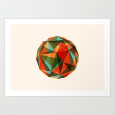 SPHERICOLOUR Art Print