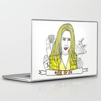 clueless Laptop & iPad Skins featuring As If by TheFrizzKid