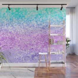 Unicorn Girls Glitter #9 #shiny #decor #art #society6 Wall Mural