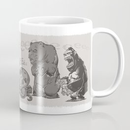 ZomBanimals Coffee: b&w Coffee Mug