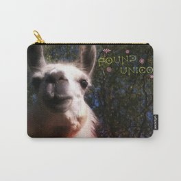 Blanche in paradise - Found Unicorn Carry-All Pouch