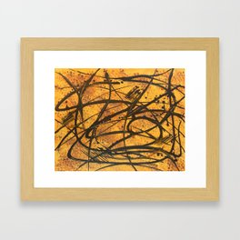 Sound of the Hive Framed Art Print