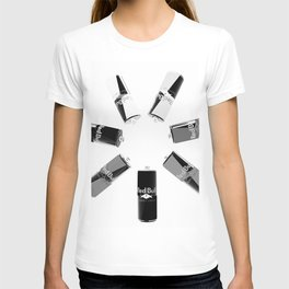 Gives you Wings Black And White T-shirt