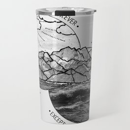 mountains-biffy clyro Travel Mug