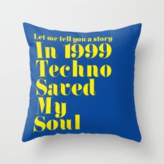 A Story Throw Pillow