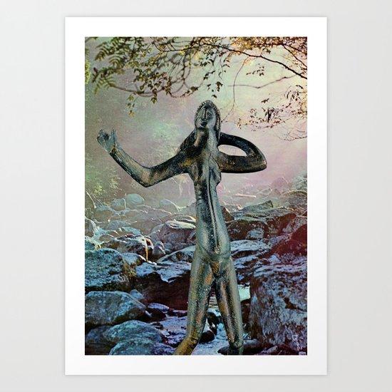 Celtic Woman Art Print