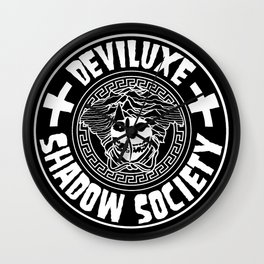 DEVILUXE SHADOW SOCIETY Wall Clock