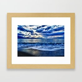 Sunrise over the South Pacific Framed Art Print