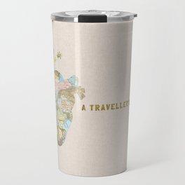 A Traveller's Heart (UK) Travel Mug