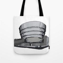 Guggenheim Museum Tote Bag