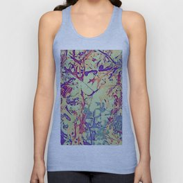 Colorful Leaves  Unisex Tank Top
