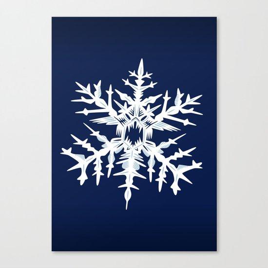 Evil Snow Canvas Print