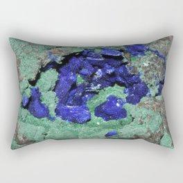Azurite and Malachite Rectangular Pillow