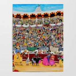 La Risa de Mexico Original Oil on Canvas 150x120cm Juan Manuel Rocha Kinkin Poster