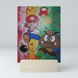 Mushroom World Mini Art Print
