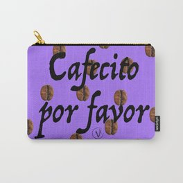 Cafecito Por Favor Carry-All Pouch